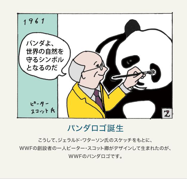 パンダロゴが生まれたわけ|WWF...