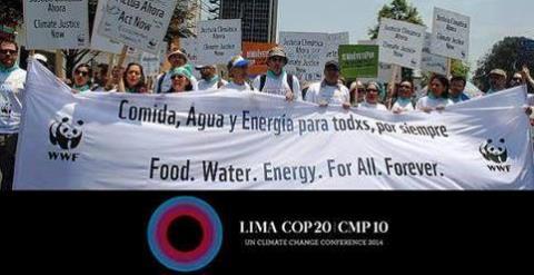 「2015年パリ合意」に向けて ペルー・リマ会議(COP20)報告会を実施