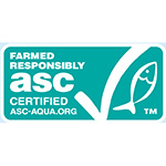 ブリ・スギ類養殖とASC認証基準イメージ