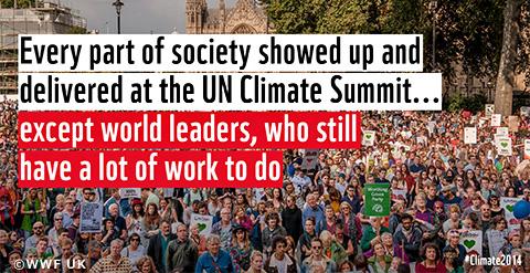 国連気候サミット開催!声明を発表