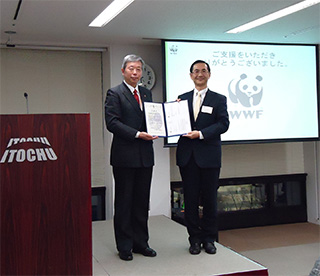 伊藤忠グループのご支援によるWWFジャパン北ウルセガマ森林再生プロジェクトの森林再生活動が完了