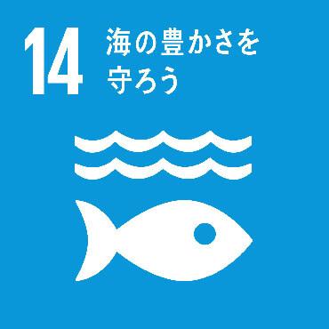 SDGs Goal :14 持続可能な開発のために海洋・海洋資源を保全し、持続可能な形で利用する