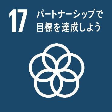 SDGs Goal :17 持続可能な開発のための実施手段を強化し、グローバル・パートナーシップを活性化する