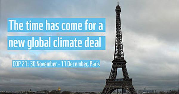 年末のパリに注目!国連交渉の山場COP21に向けて